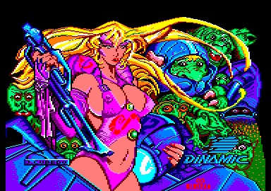 Game Over II Amstrad CPC Loading screen