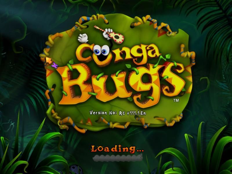 Conga Bugs Windows Loading screen