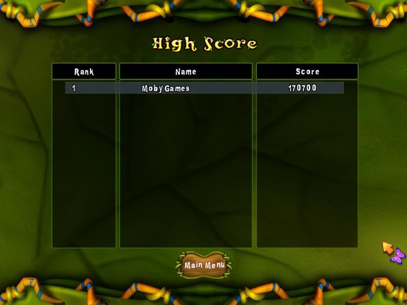 Conga Bugs Windows High scores
