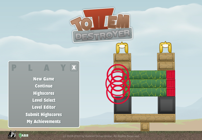 Totem Destroyer 2 Browser A continuation of the title screen