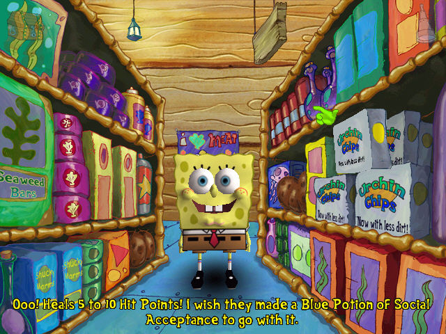 SpongeBob SquarePants: Employee of the Month Windows Gaming Humor