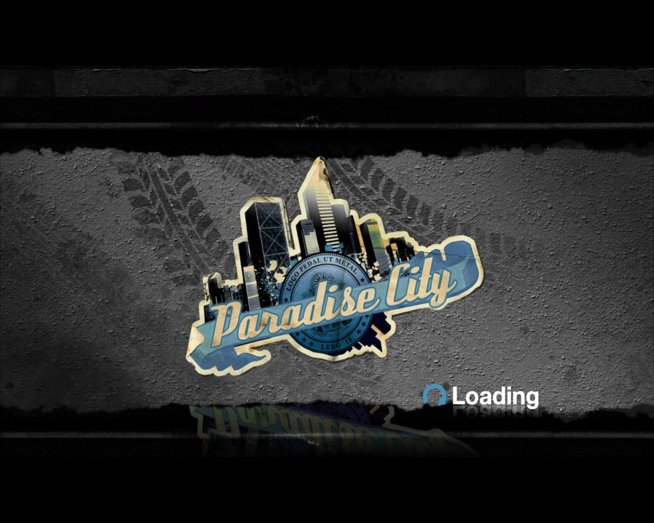 Burnout: Paradise - The Ultimate Box Windows Loading screen