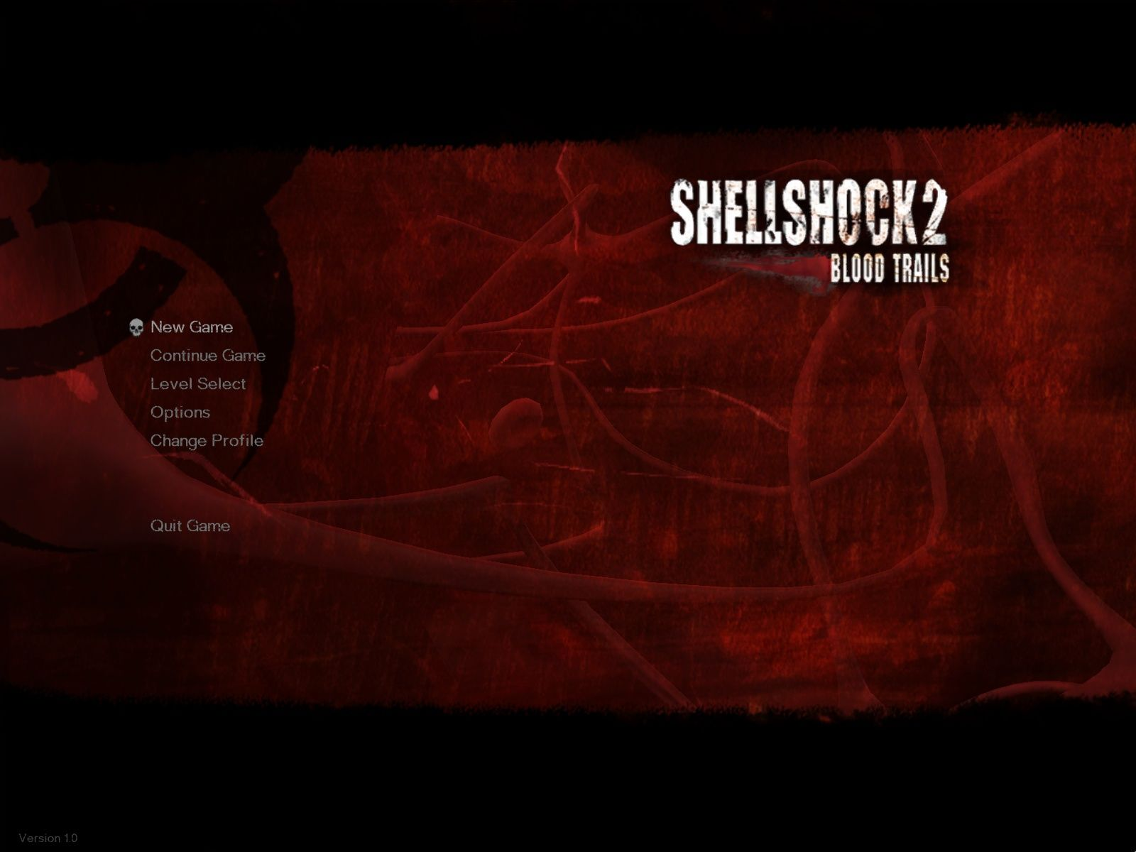 Shellshock 2: Blood Trails Windows Main Menu