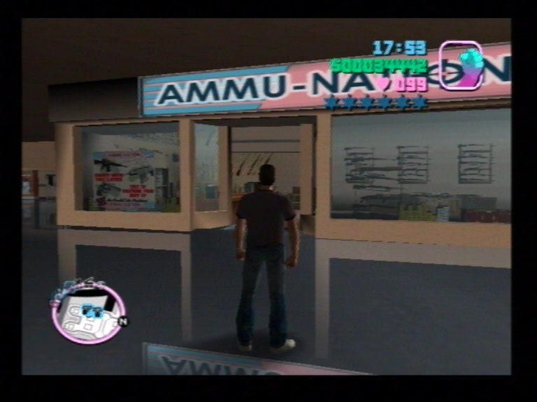 Grand Theft Auto: Vice City PlayStation 2 Visit Ammunation