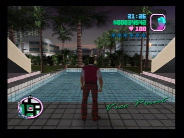 Grand Theft Auto: Vice City PlayStation 2 Fancy a Dip?