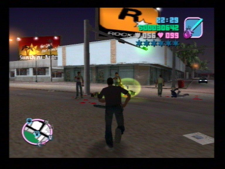 Grand Theft Auto: Vice City PlayStation 2 Take part in gang wars