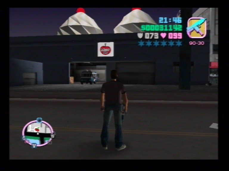 Grand Theft Auto: Vice City PlayStation 2 Ice Cream Factory or ... ?