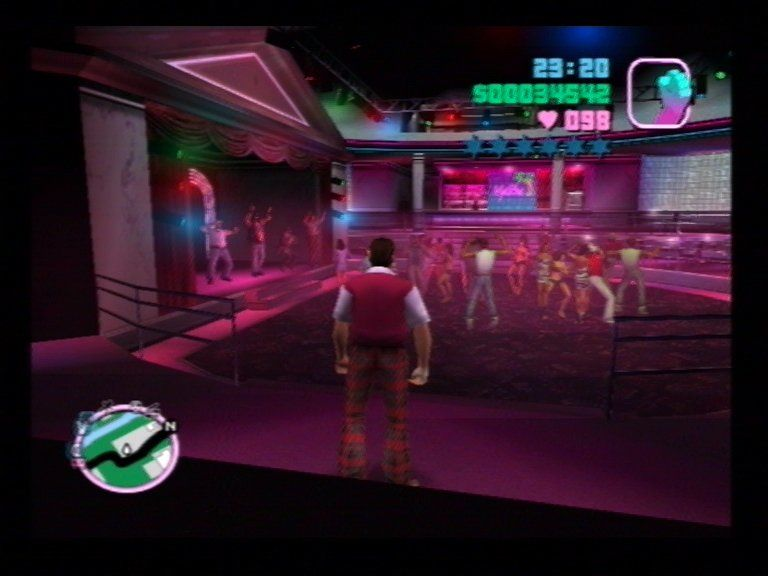 Grand Theft Auto: Vice City PlayStation 2 Inside the Malibu
