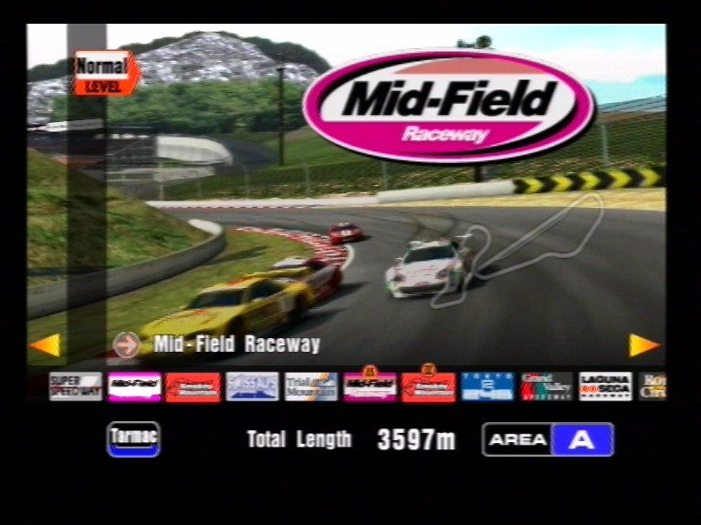 Gran Turismo 3 A-Spec PlayStation 2 Track Selection