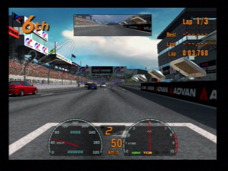 Gran Turismo 3 A-Spec PlayStation 2 Midfield 1