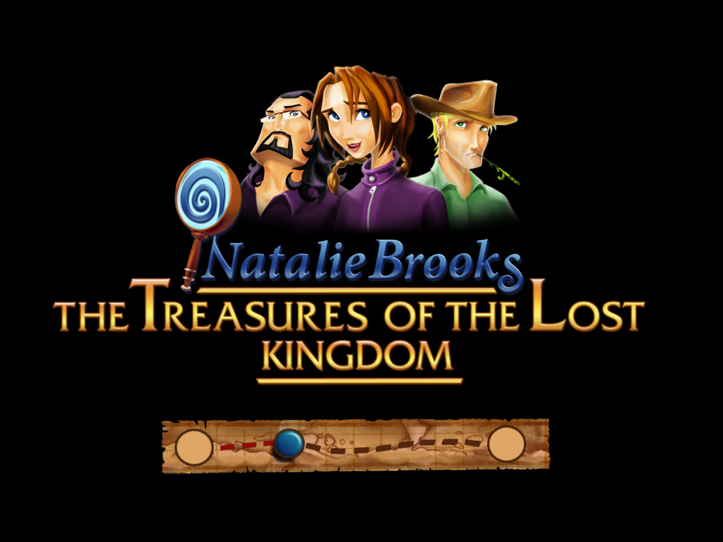 Natalie Brooks: The Treasures of the Lost Kingdom Windows Loading screen