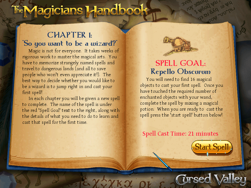 The Magician's Handbook: Cursed Valley Windows Chapter 1