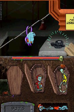"Teenage Zombies: ""Invasion of the Alien Brain Thingys"" Nintendo DS But the look of the game really doesn't get much better. It is still drab, boring and devoid of detail."