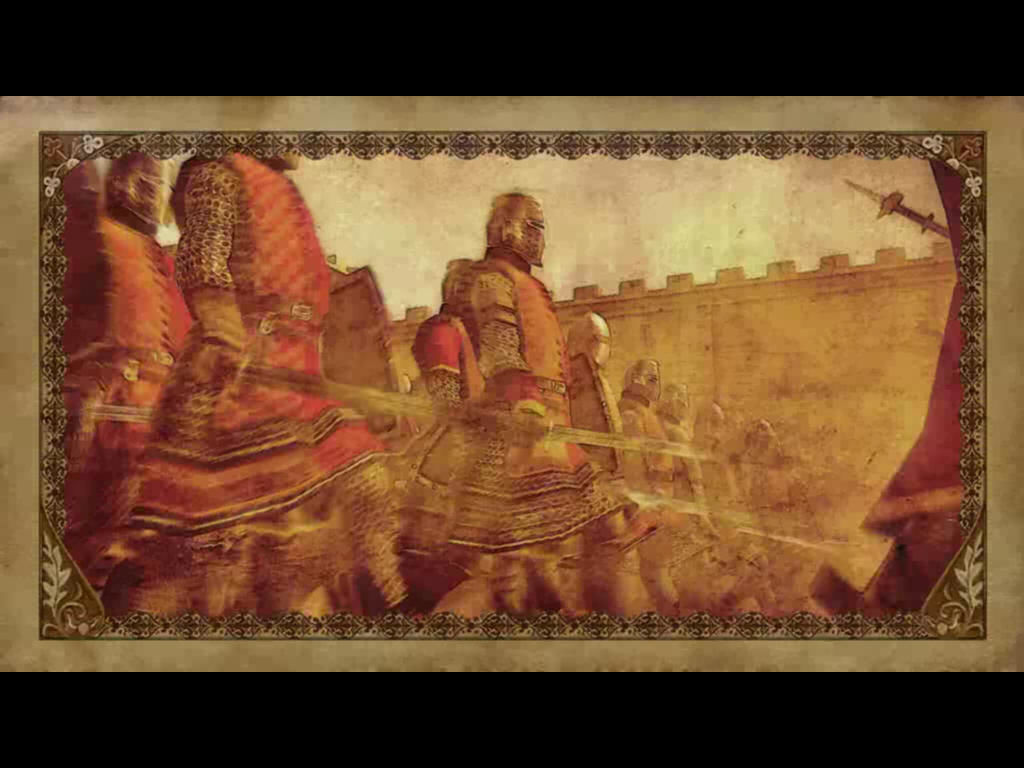 Medieval II: Total War Windows The intro