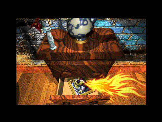 The Manhole: CD-ROM Masterpiece Edition Windows 3.x Dragon portrait