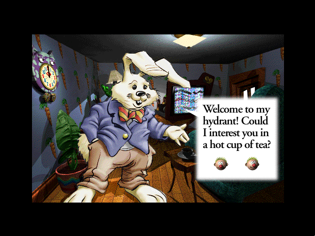 The Manhole: CD-ROM Masterpiece Edition Windows 3.x White rabbit