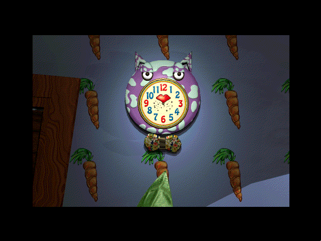 The Manhole: CD-ROM Masterpiece Edition Windows 3.x Talking clock