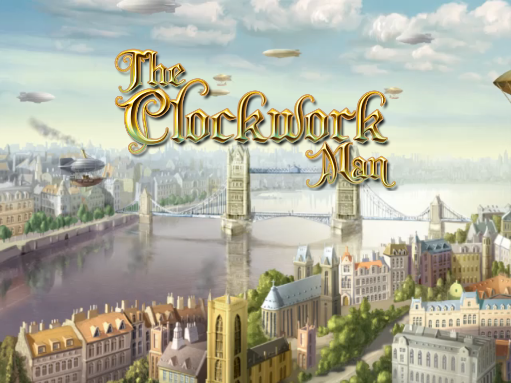 The Clockwork Man Windows Title screen