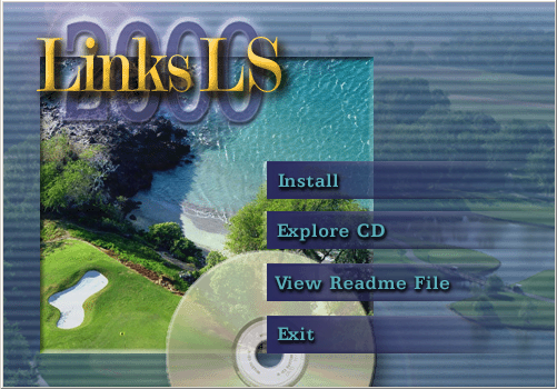 Links LS Classic Windows Autorun menu for Links LS Classic.