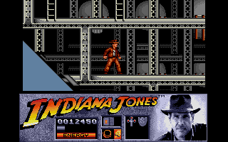 Indiana Jones and the Last Crusade: The Action Game Atari ST Aboard the zeppelin.