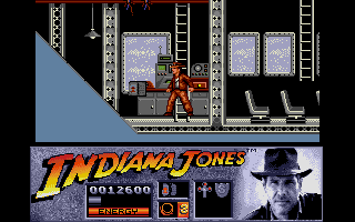 Indiana Jones and the Last Crusade: The Action Game Atari ST The zeppelin's radio room.