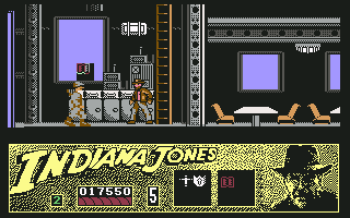 Indiana Jones and the Last Crusade: The Action Game Commodore 64 The radio room of the zepplin.