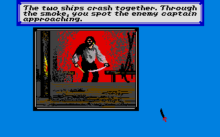 Sid Meier's Pirates! Atari ST This guy is mad at me!