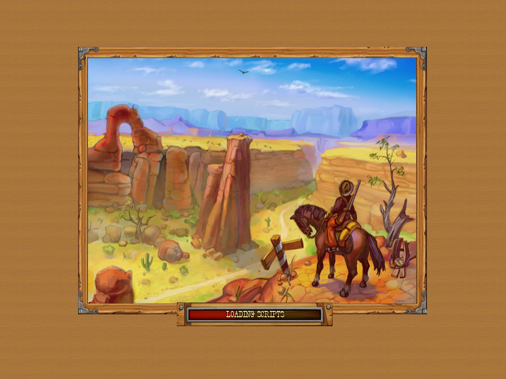 Westward II: Heroes of the Frontier Windows Loading screen