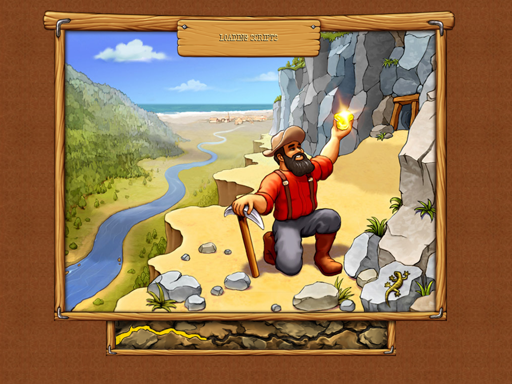 Westward III: Gold Rush Windows Loading screen