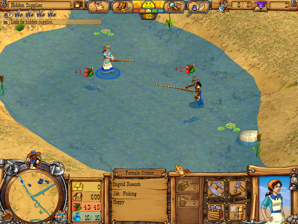 Westward III: Gold Rush Windows Fishing.