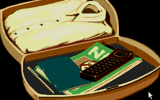 007: James Bond - The Stealth Affair Atari ST Inside your briefcase.