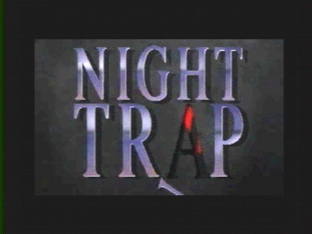 Night Trap SEGA 32X Title Screen