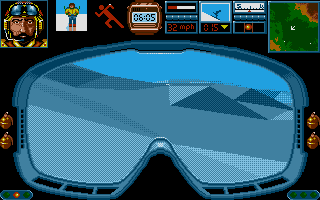 Midwinter Atari ST Skiing.