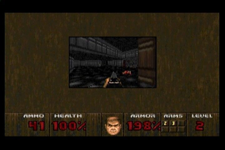 DOOM 3DO Smallest screen size. Improves the framerate, but not consistently or significantly.