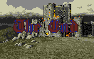 Defender of the Crown Apple IIgs Your castle has been captured by the enemy. Game Over.