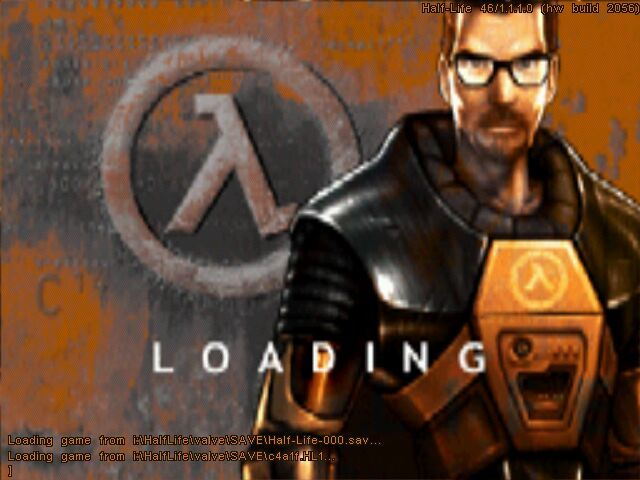 Half-Life Windows Loading screen