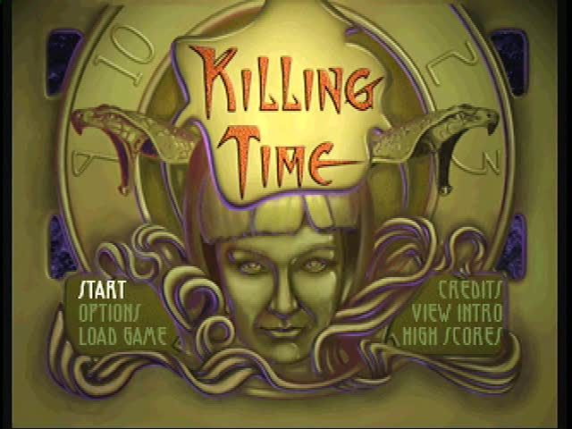 Killing Time 3DO Main menu