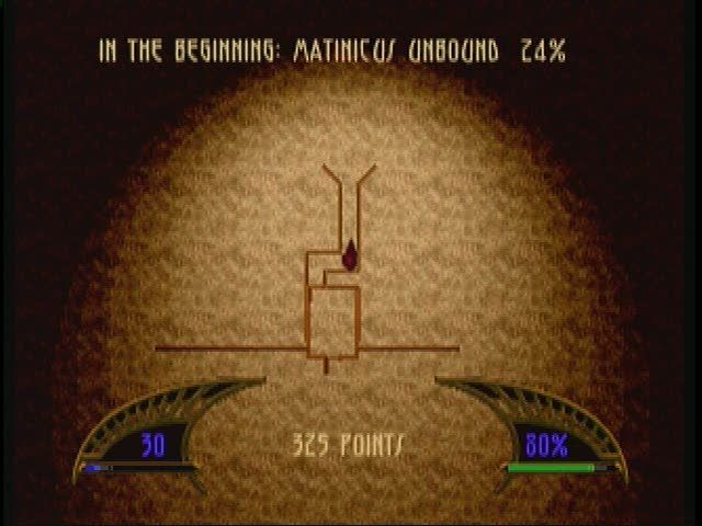 Killing Time 3DO Map screen