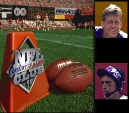 NFL Quarterback Club 96 SNES Title screen