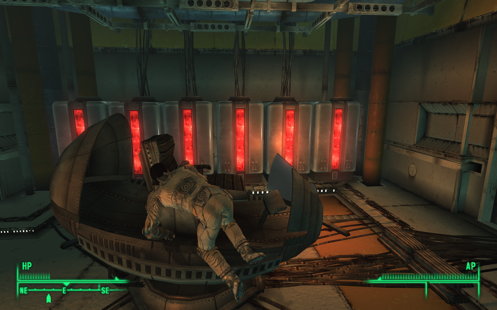 Fallout 3: Operation: Anchorage Windows I'm entering the simulation pod.