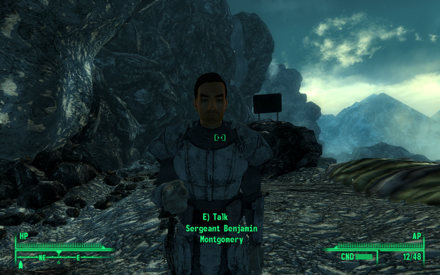 Fallout 3: Operation: Anchorage Windows Sergeant Montgomery will assist you in this mission.
