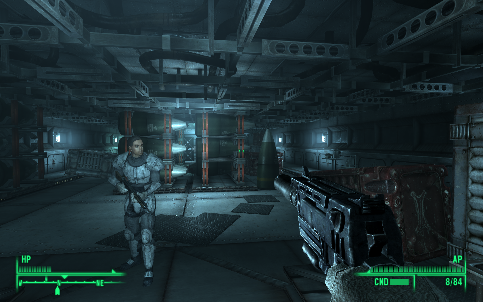 Fallout 3: Operation: Anchorage Windows We have reached the ammo dump.