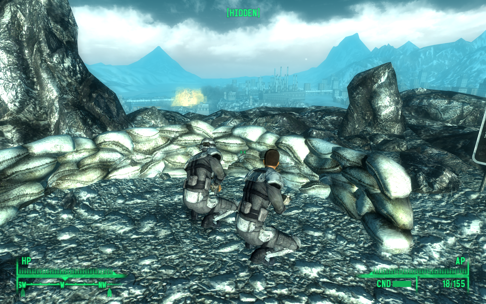 Fallout 3: Operation: Anchorage Windows Anchorage is under heavy artillery fire.