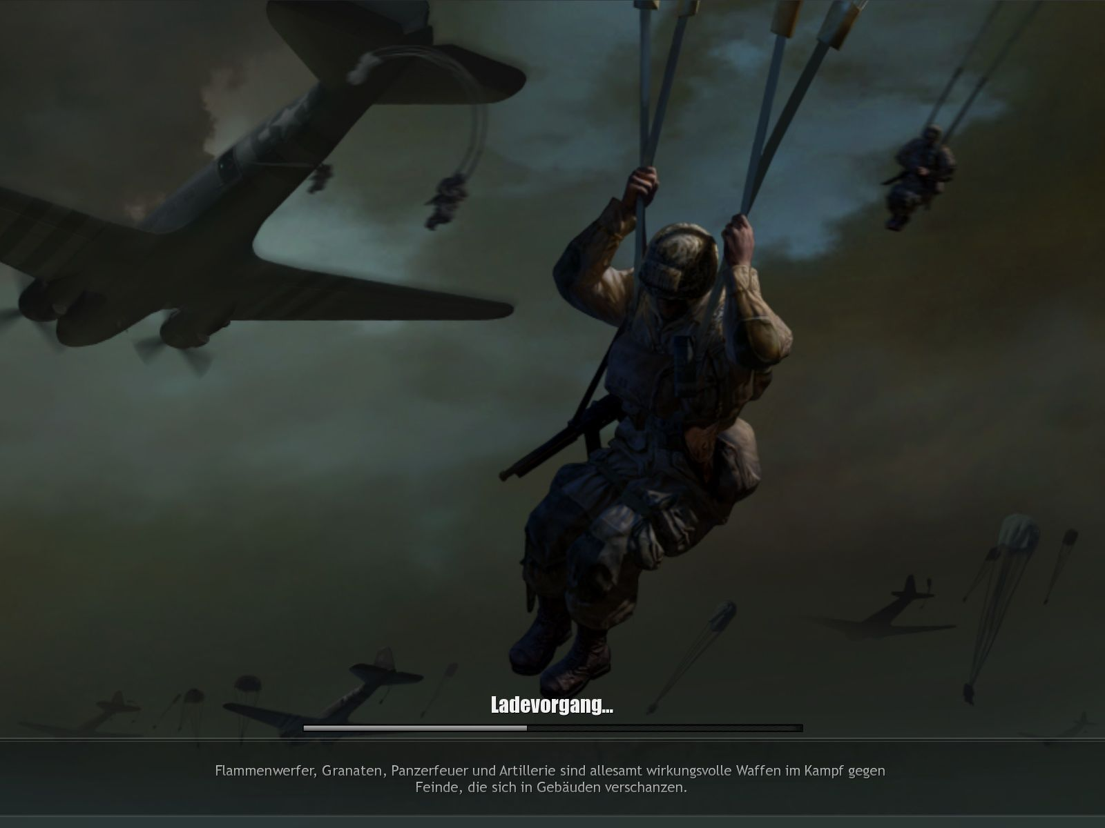 Company of Heroes: Tales of Valor Windows One of the many different loading screens