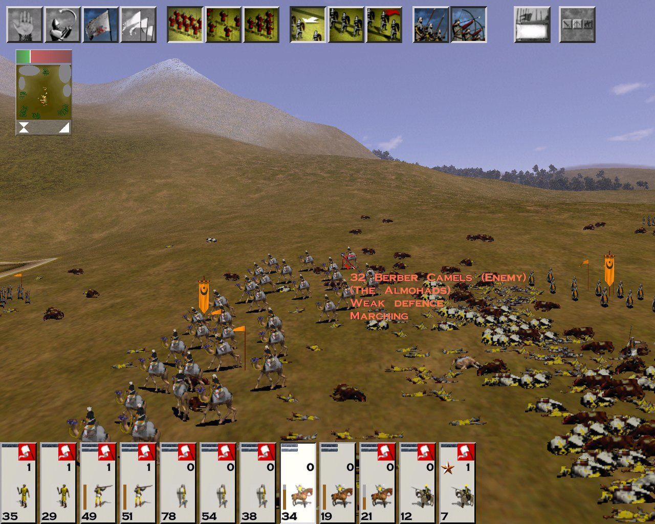 Medieval: Total War Windows I'm being beaten up by a bunch of dromedaries?!?!