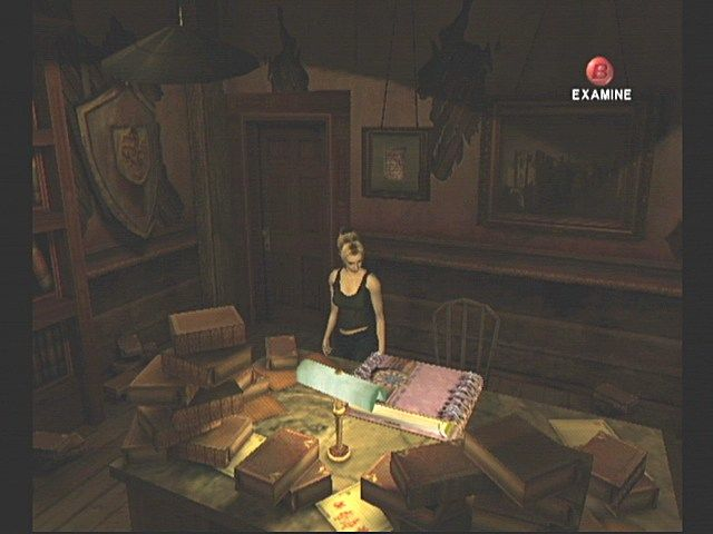 Eternal Darkness: Sanity's Requiem GameCube Alex finds the Tome of Eternal Darkness.