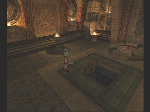 Eternal Darkness: Sanity's Requiem GameCube Where does the ladder go?