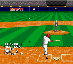 ESPN Baseball Tonight SNES It's going