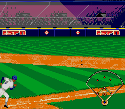 ESPN Baseball Tonight SNES Oh no it's a hit
