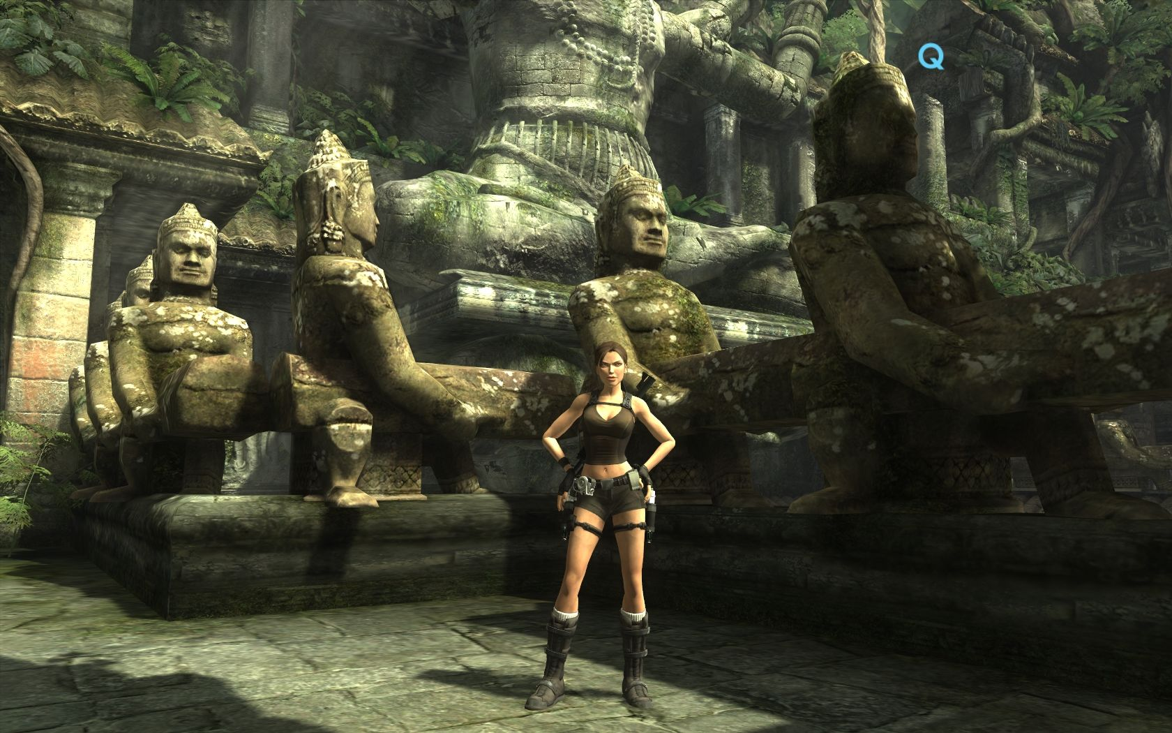 Tomb Raider: Underworld Windows The Land of Men with gigantic..., nobody takes Tomb Raider seriously anymore